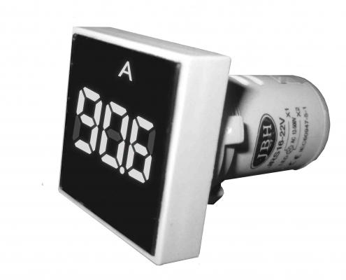 چراغ سیگنال آمپرمتر مربع و گرد AC برند JBH